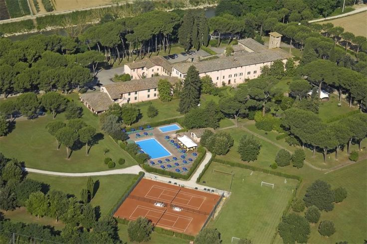Splendid historical Relais in the Umbrian countryside Perugia, Italy – Luxury Home For Sale