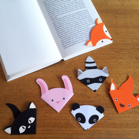 Make Cute Animal Bookmark | Guidecentral