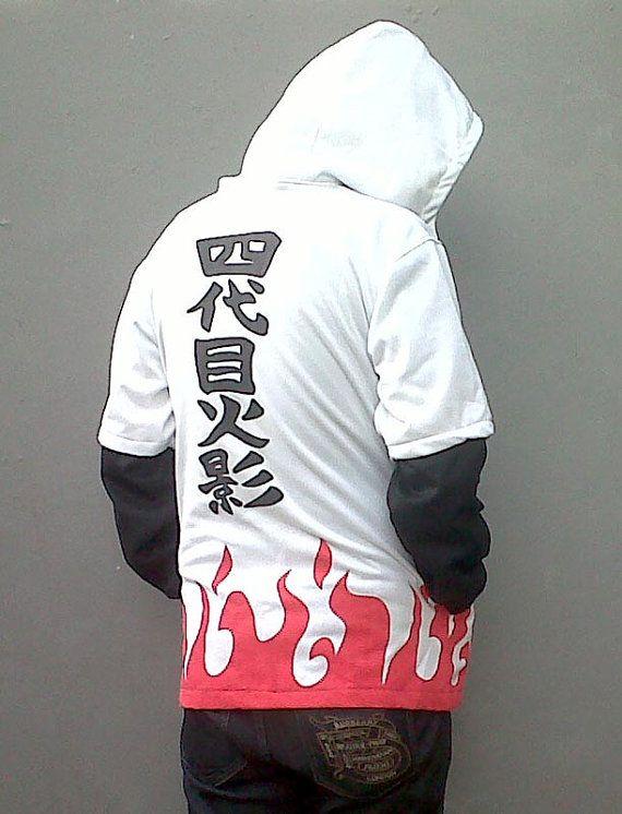 Naruto 4th Hokage Yondaime Minato Hoodie Jacket By