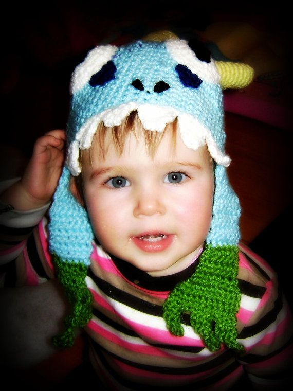 Wow murloc crochet hat Pattern for toddler to teen world by Scraby, $3.00