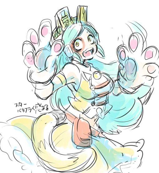 Boku no Hero Academia || Ragdoll/Tomoko Shiretoko
