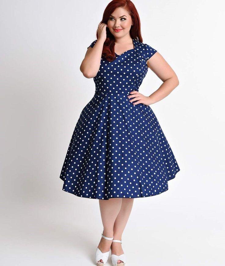 Blue and white plus size dress. #plussize #dresses #trendy2017 #forplussize