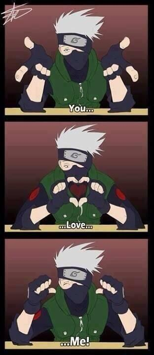 Kakashi is just perfect in just about every single way :)