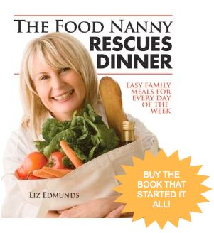 Buy the book that started it all! | The Food Nanny: Liz Edmunds #thefoodnanny #cookbook #family thefoodnanny.com