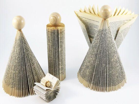 Moderno de establecer – Pesebre Navideño - plegado libro escultura arte conjunto