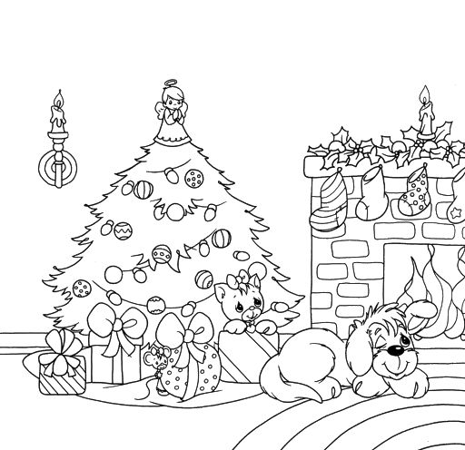 p moments coloring pages christmas - photo#35