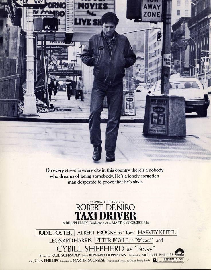 You talkin' to me? Martin Scorsese n'avait que 34ans, Robert De Niro 33ans, quand sort Taxi Driver. Réalisé avec très peu de moyens, le quatrième long-mé