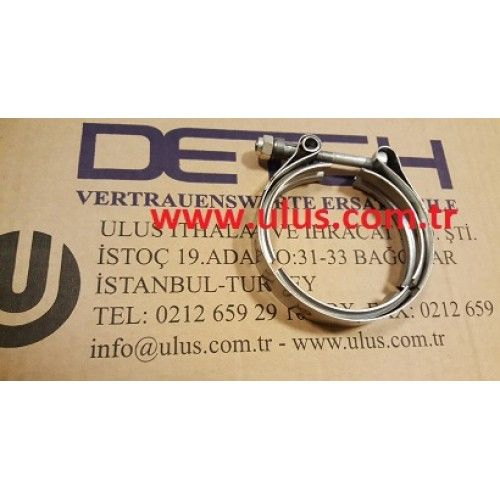 6732-81-8220 Clamp Vband, Komatsu engine parts