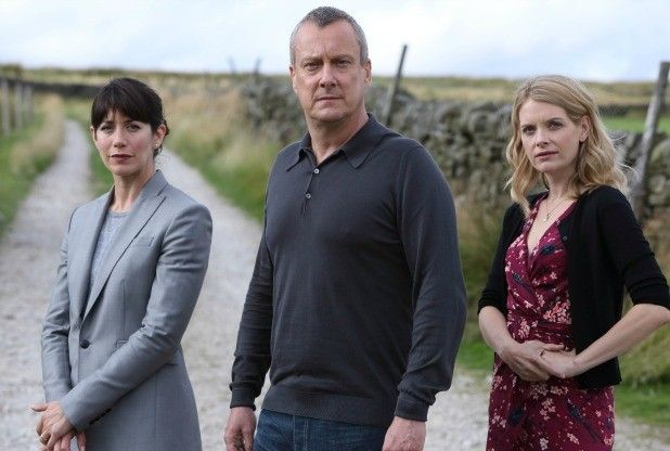 Caroline Catz back with Stephen Tompkinson and Andrea Lowe on DCI Banks