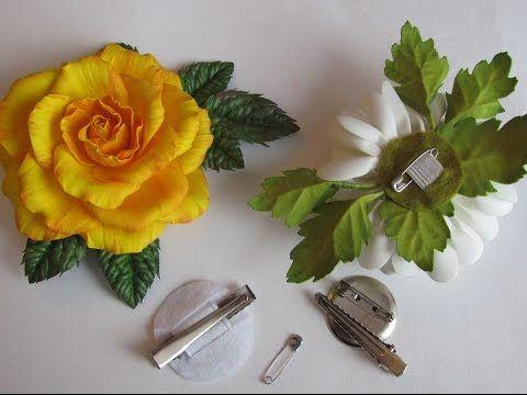 Видеозаписи Школа создания цветов из фоамирана Инны Жарой.