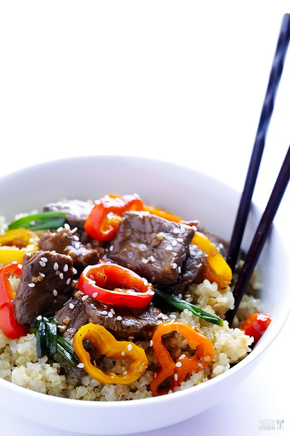 Easy Pepper Steak Recipe   gimmesomeoven.com This was very good , family enjoyed it. Will make it again.