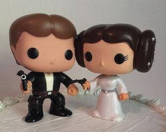 52 best star wars cake tops images on pinterest star wars wedding star wars wedding cake topper etsy junglespirit Gallery