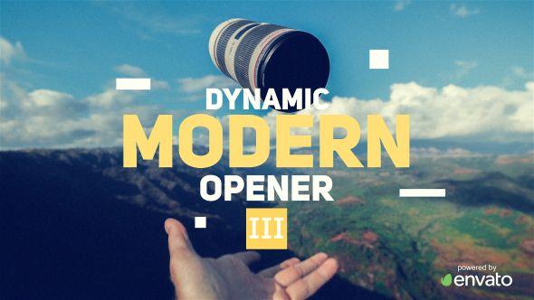 Dynamic Modern Opener III