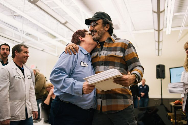At Chobani, Now It's Not Just the Yogurt That's Rich The company surprised its 2,000 full-time workers with shares in the company 05/26/2016