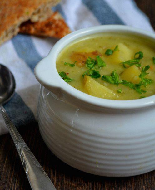 Potato Leek Soup (dairy-free, gluten-free, vegan)