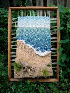 Neat beach weaving