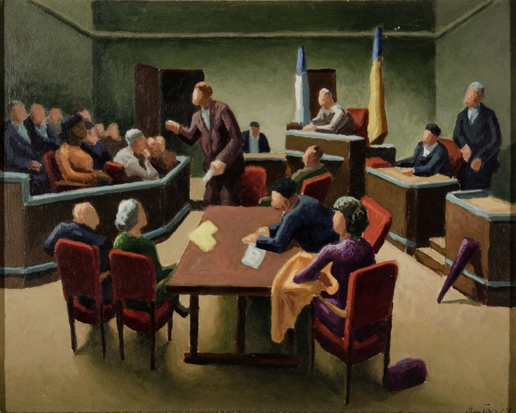 Trial by Jury (study) | Thomas Hart Benton | Pinterest ... Jury Trials In Civil Cases