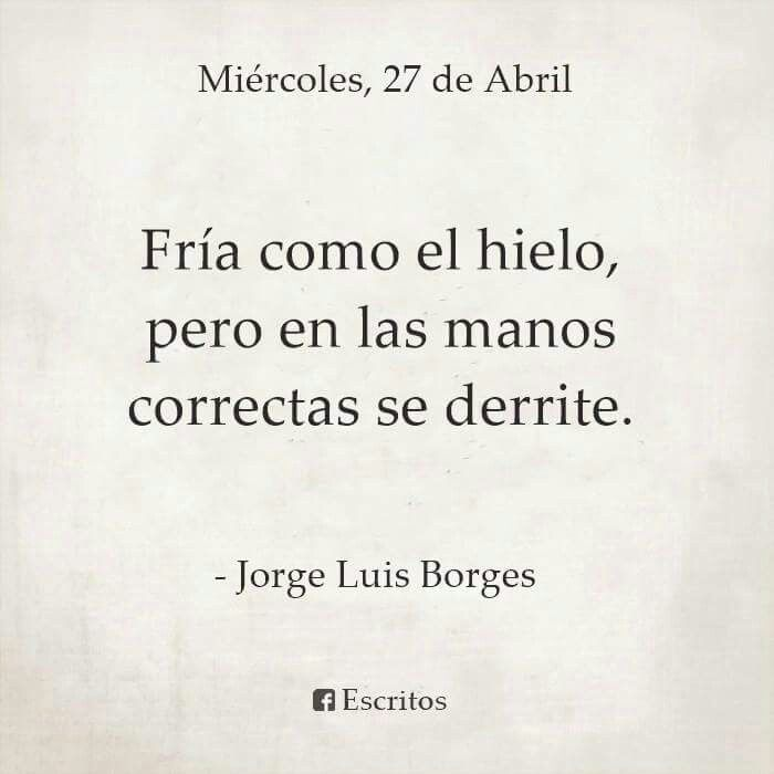 Resultado De Imagen Para Jorge Luis Borges Frases Frases Citas