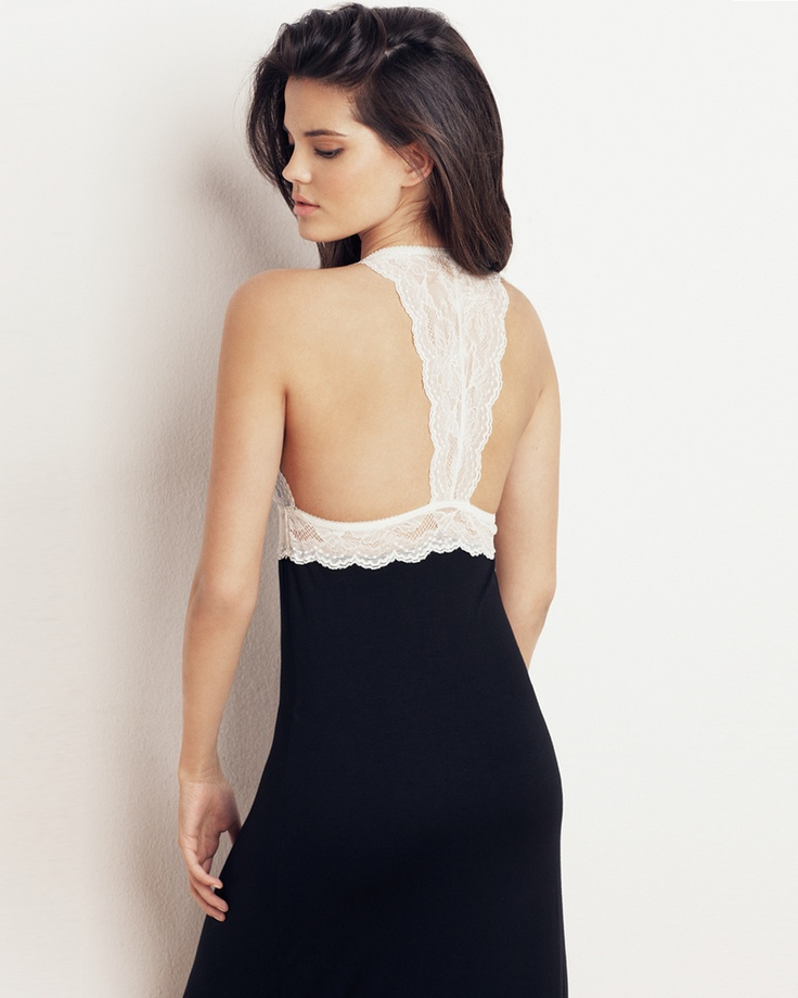 now that's one chic nightgown