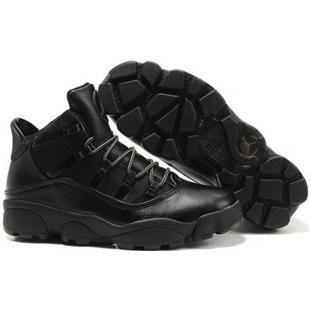 Nike Air Jordan Winterized  Rings Black Rustic Mens Shoes