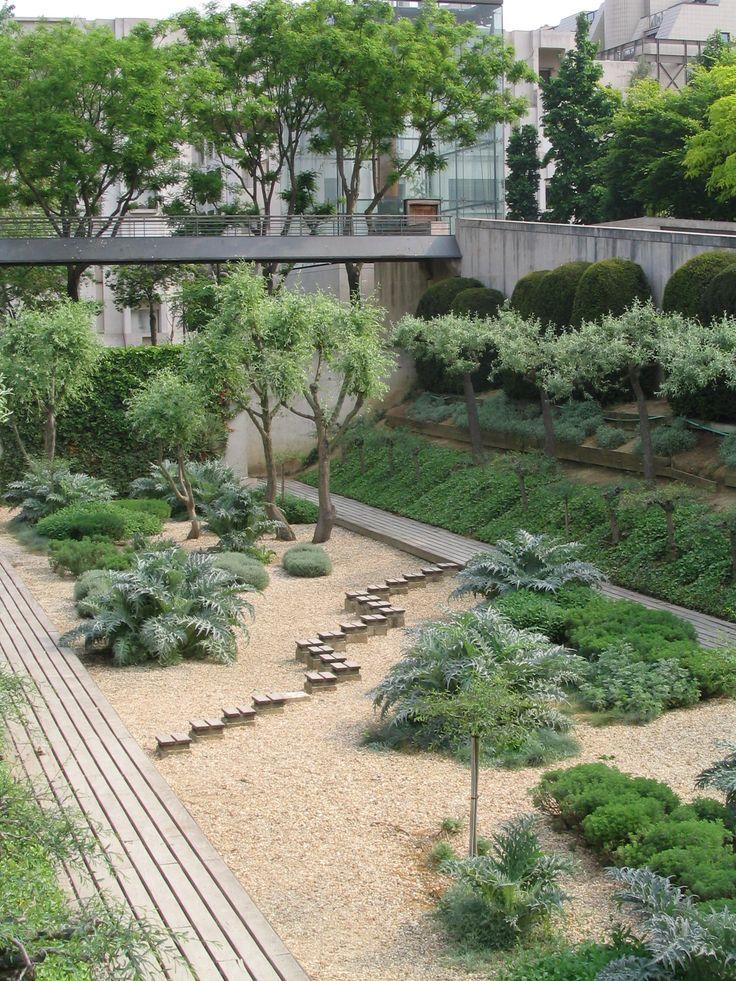 gilles clément / parc andré-gustave citroën, paris Garden design