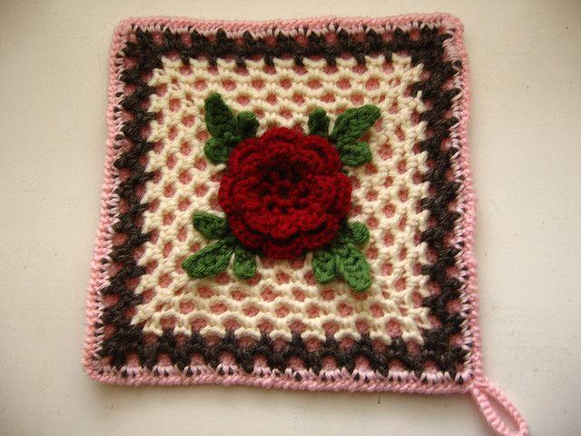 224 Best Crochet Squares Images On Pinterest Crochet Blankets