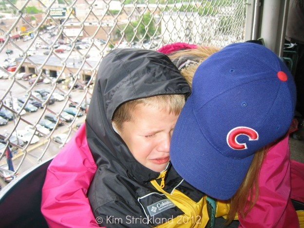 Two Cubs tickets for a family of five? Perfect. (Fostering a love of baseball since 2003!)