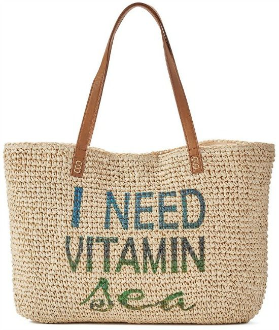 I Need Vitamin Sea Tote Bag... http://www.beachblissdesigns.com/2017/04/need-vitamin-sea-tote-bag.html