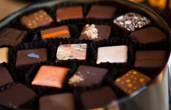 Fábrica de chocolates en la cocina - Revista Paula