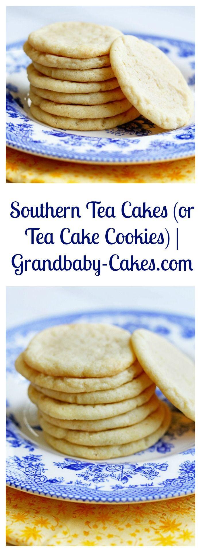Easy and Classic Southern Tea Cakes Recipe | Grandbaby-Cakes.com