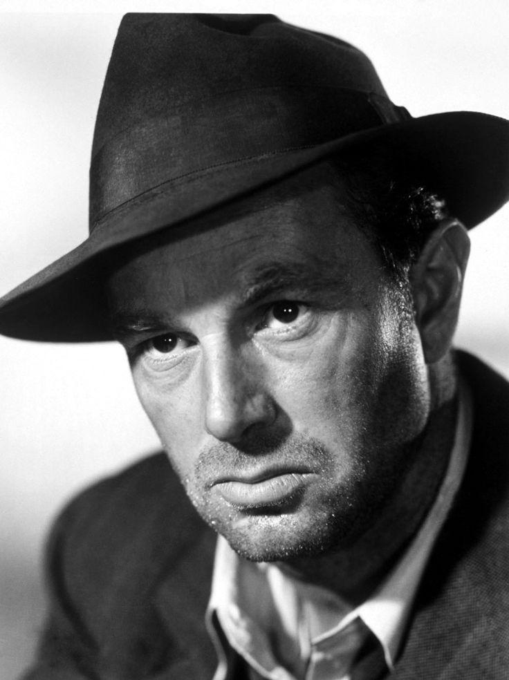 """Sterling Hayden en """"La jungla de asfalto"""", 1950"""
