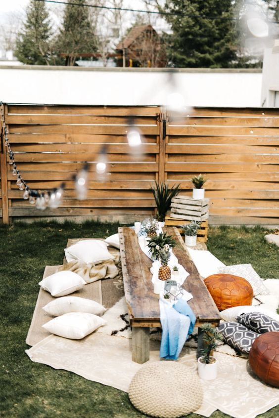 Host A Destination Inspired Birthday In Your Own Backyard Pictures