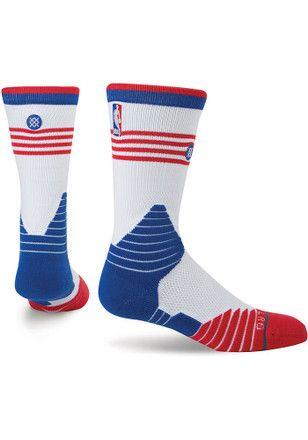 Detroit Pistons On Court Collection Crew Socks