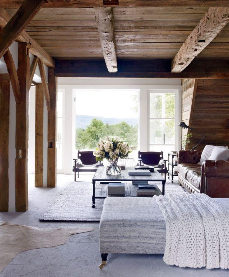 interior decor trends 2017 countryside bedroom, rustic bedroom, countryside interior decor, wooden interior, modern interior design bedroom