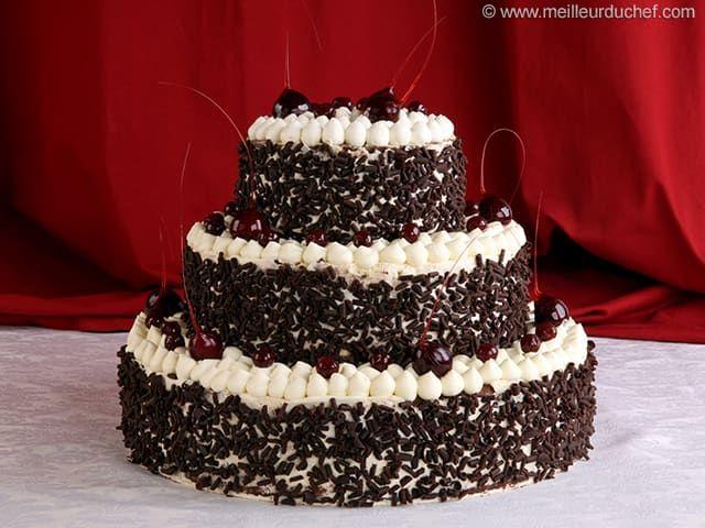 Forêt noire façon Wedding Cake