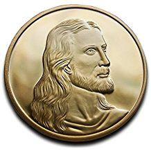 Jésus Christ et Léonard de Vinci la Cène pièce de monnaie Plaqué or 24K haute qualité Idéal chrétien Cadeau religieux Cadeau