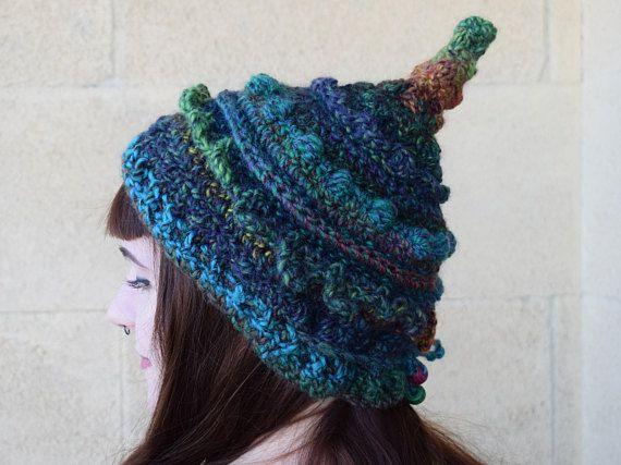 Crochet OOAK Elf Hat