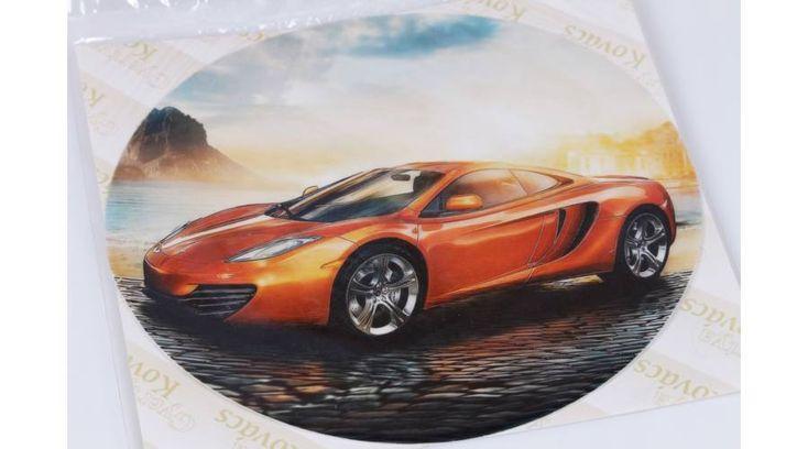 Autó a tengerparton tortaostya - Süss Velem.com