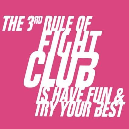 3rd Rule of Fight Club tshirt - GToE is the ultimate guide to the best new funny, geeky, cool t-shirts and gifts. Tell 'em Tyler Durden sent you!
