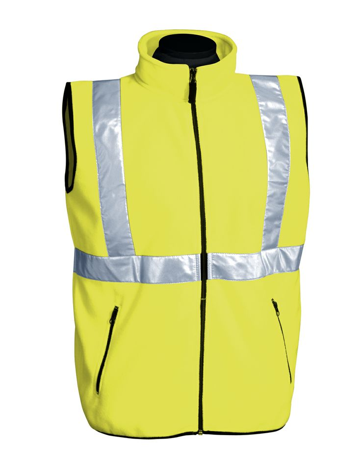 100% Polyester Anti Pilling Safety Fleece Vest (Ansi Class) Tri mountain 8330 #Safety #tough #workout
