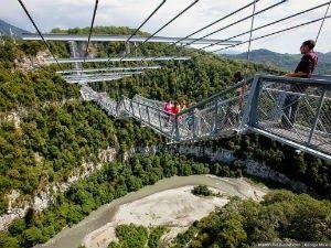 A maior ponte suspensa para pedestres do mundo - Curtir Espetacular