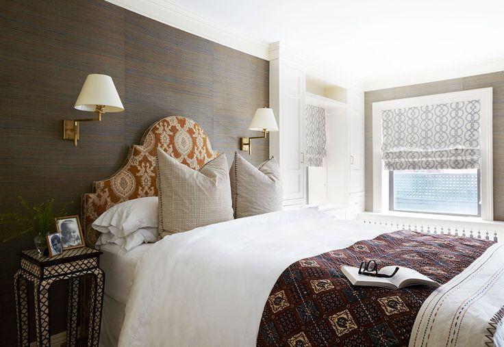 Sound sleep wallpaper headboard neutral bedrooms and sleep for Neutral bedroom wallpaper
