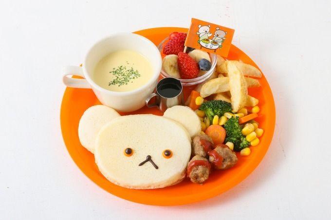 j s パンケーキ カフェ こぐまちゃんえほん しろくまちゃんのパンケーキ 限定発売 パンケーキ カフェ 絵本カフェ バースデープレート