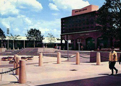 River oaks shopping mall - Calumet City, Illinois circa the 60s