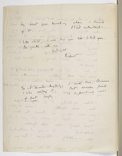 essay on the great lover by rupert brooke Beyond the great-swung arc o' the roof, divine,  love had died long ago rupert brooke the old vicarage, grantchester  essays the tricks.
