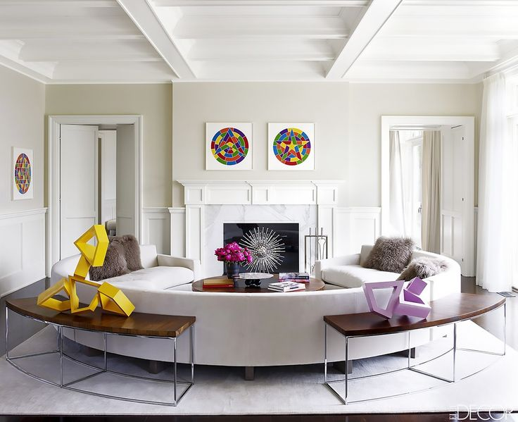 This Trend Is the Sweet Spot Between Sofas and Sectionals via @MyDomaine
