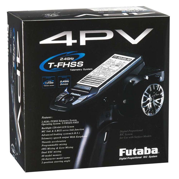 Futaba 4PV 4-Channel T-FHSS Computer Radio System (see fullscreen)