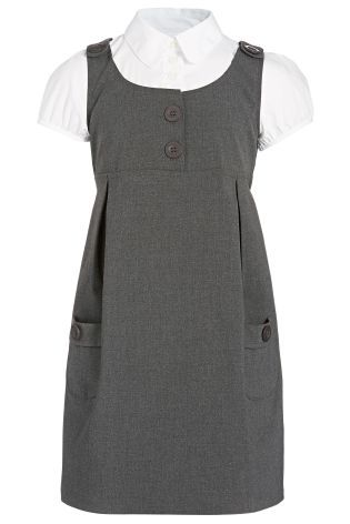 2 In 1 Pinafore Dress And Blouse (3-10yrs) from Next