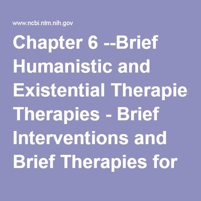The 25 best existential therapy ideas on pinterest existential chapter 6 brief humanistic and existential therapies brief interventions and brief therapies for fandeluxe Choice Image