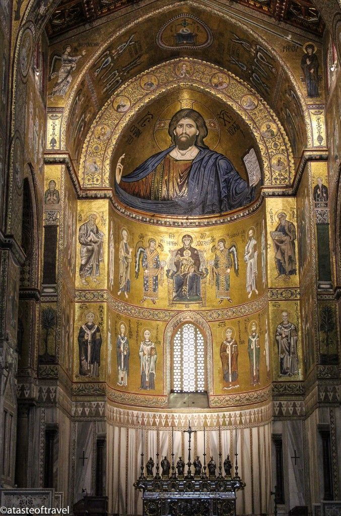 The Golden Mosaics of Monreale Cathedral
